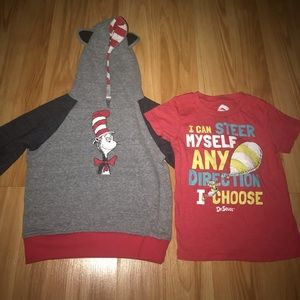 Other - Cat in the Hat 2T jacket & shirt bundle